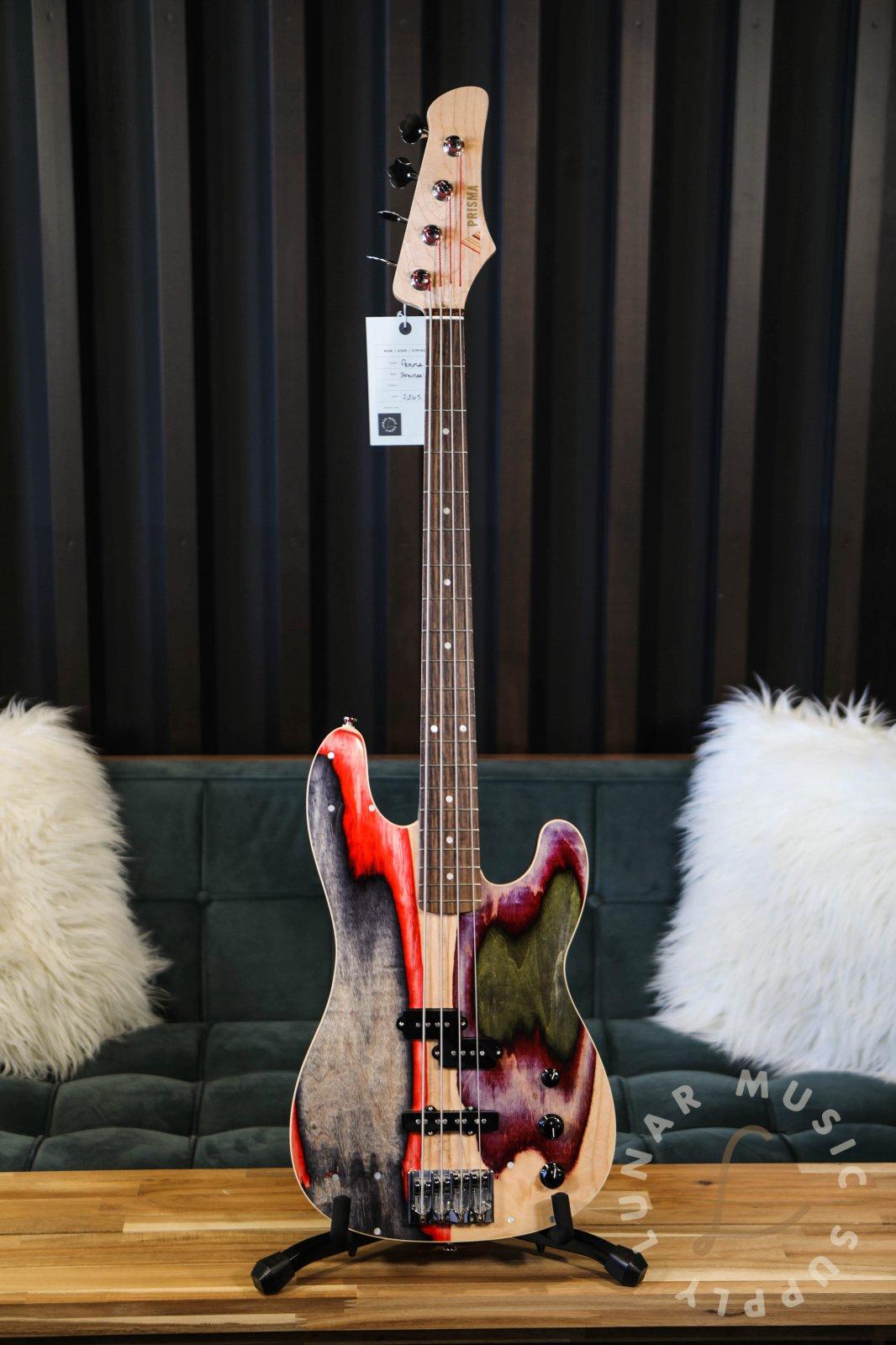 Prisma Guitars Bowman PJ Bass Guitar