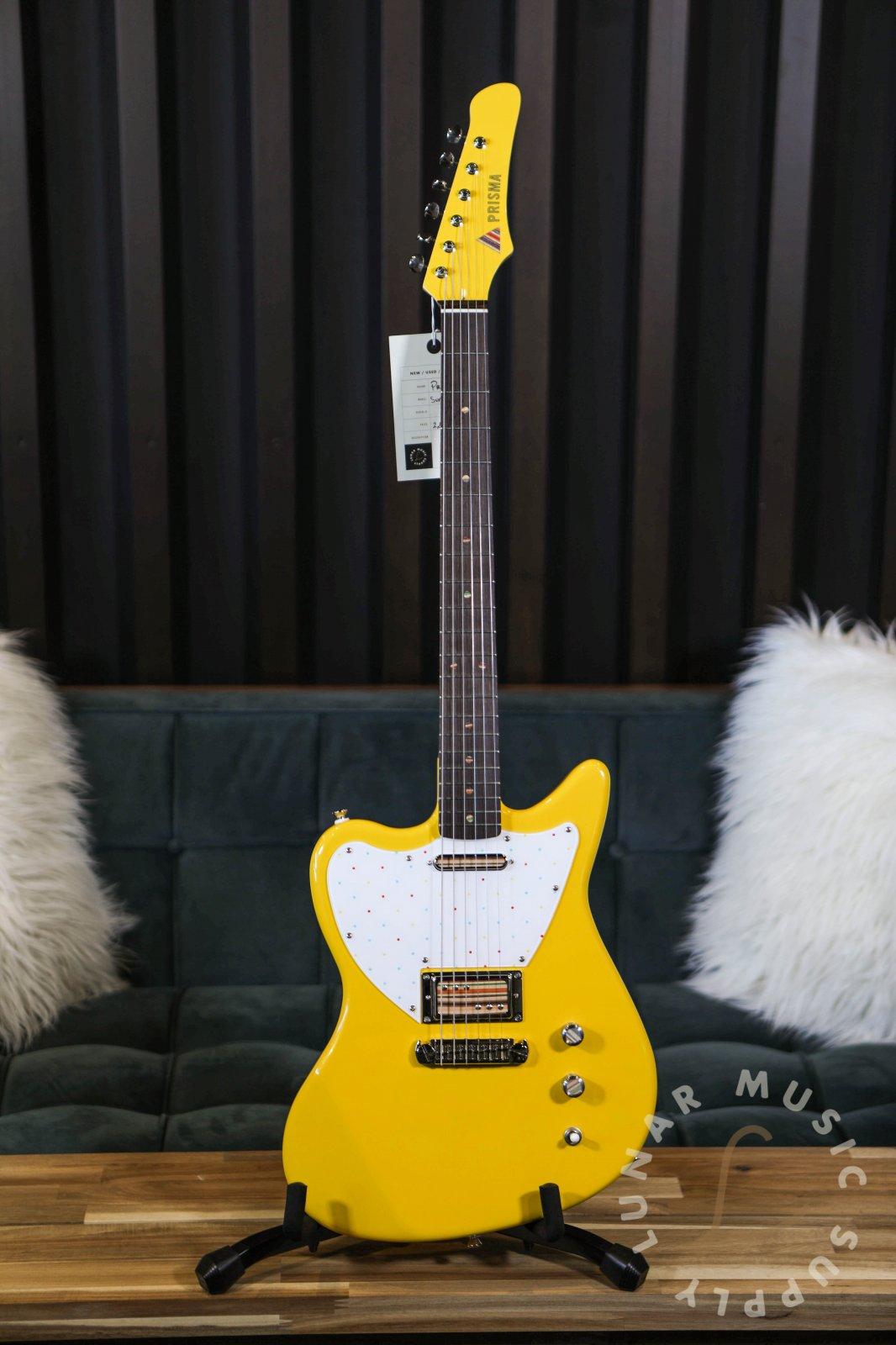 Prisma Guitars Sunset Series Electric Guitar - Taxi Cab Yellow