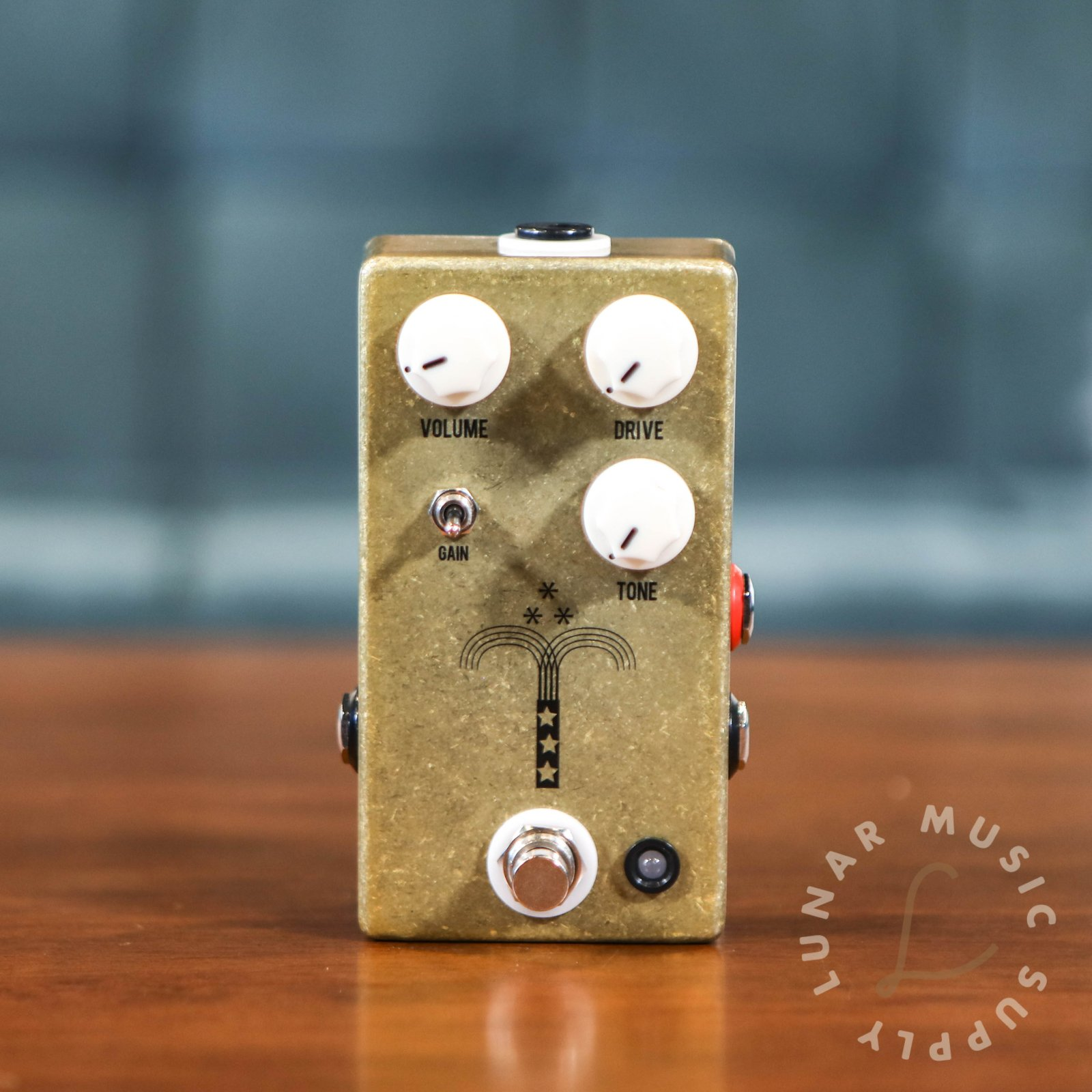JHS Morning Glory V4 Transparent Overdrive Pedal