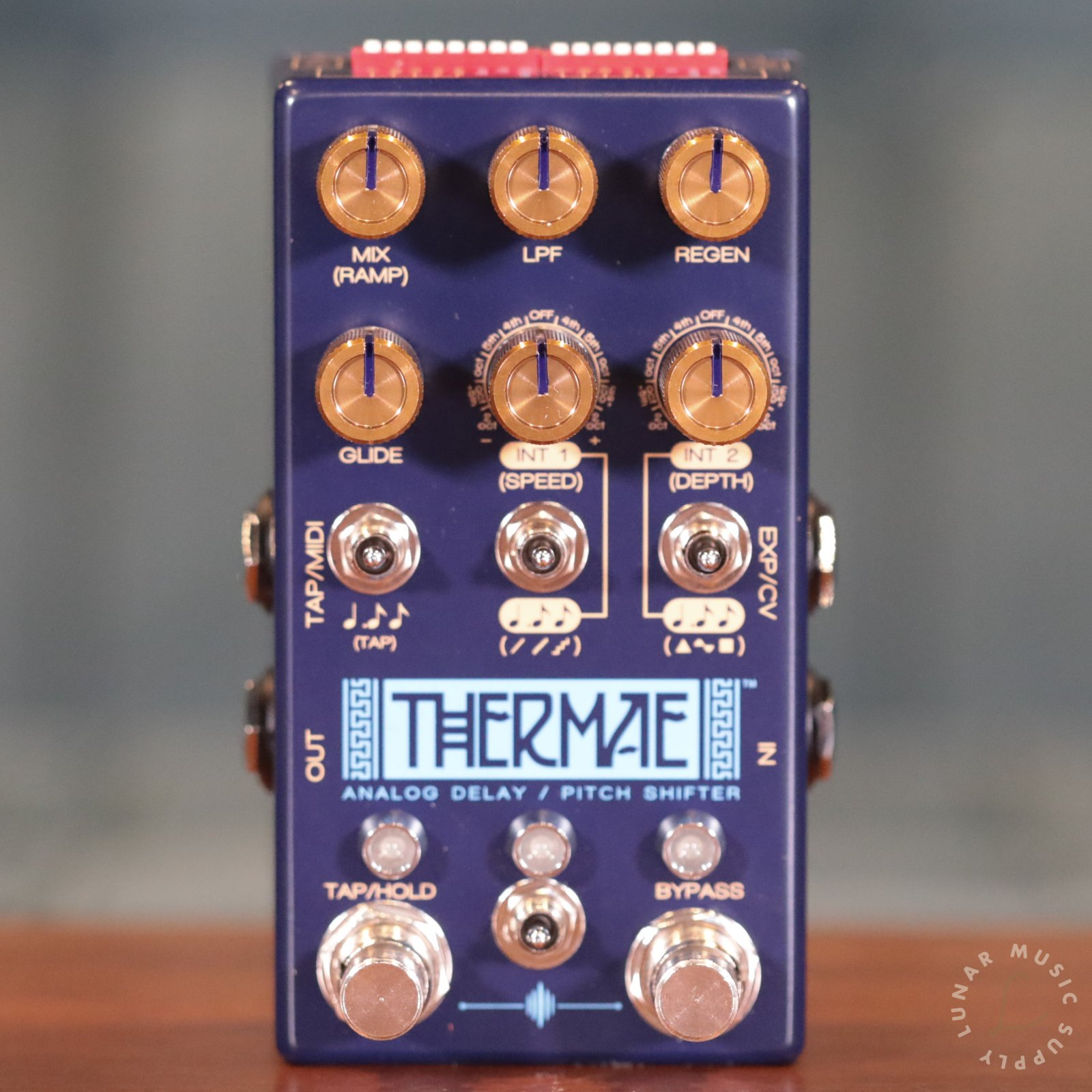 Chase Bliss Audio Thermae: Analog Delay / Pitch Shifter Guitar Pedal