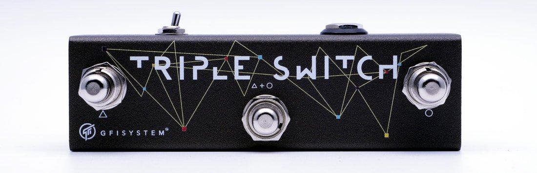 GFI System Triple Switch 3-Button Aux Switch Box