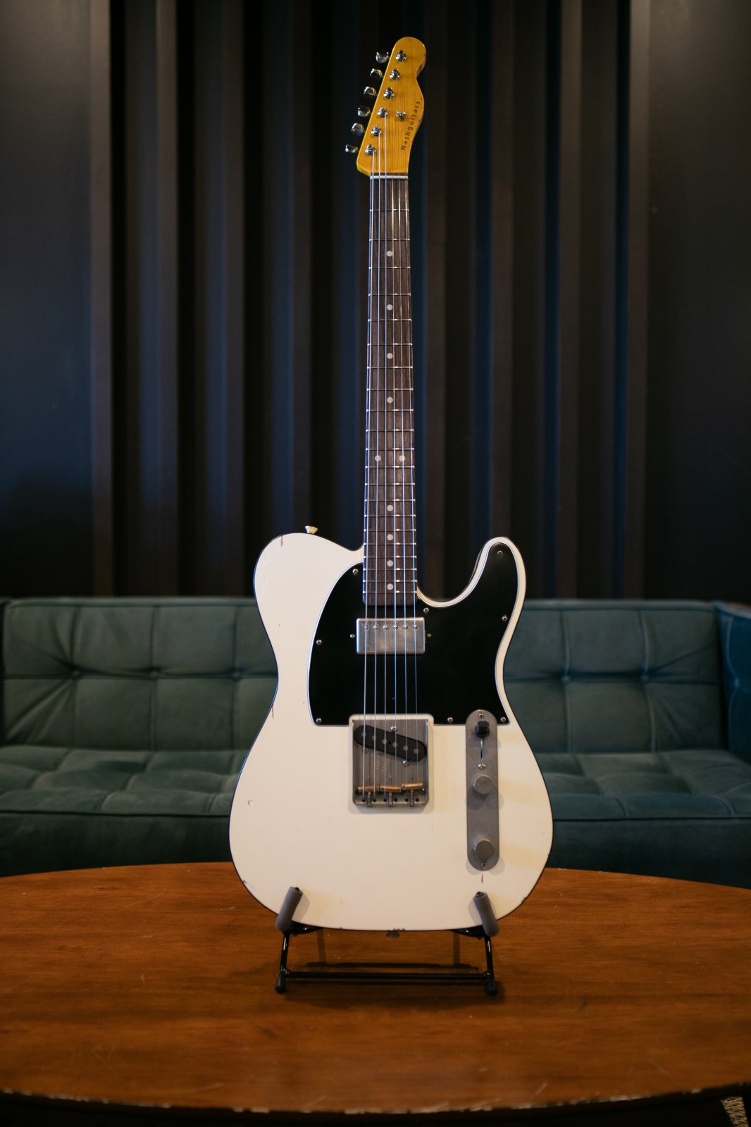 Nash Guitars T-63 (Olympic White with Black Binding)