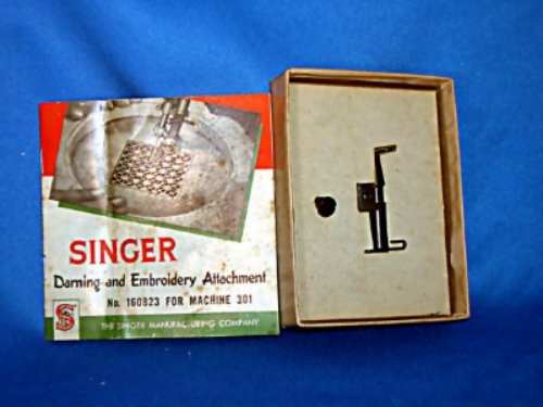 Original Darning & Embroidery Attachment for Singer 301