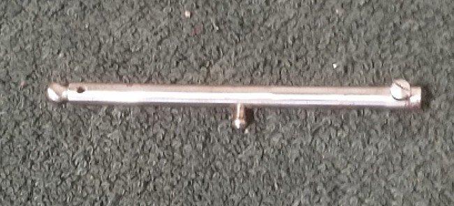 Singer 20 (Oval Base) Needle Bar  w/Set Screw - Silver