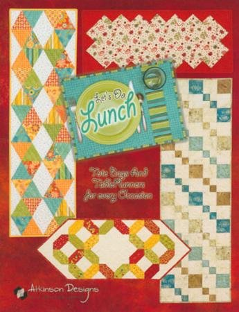 Atkinson Lets Do Lunch Quilt Pattern Book