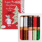 Aurifil Sugar Plum Christmas Thread Collection For Moda 80 wt