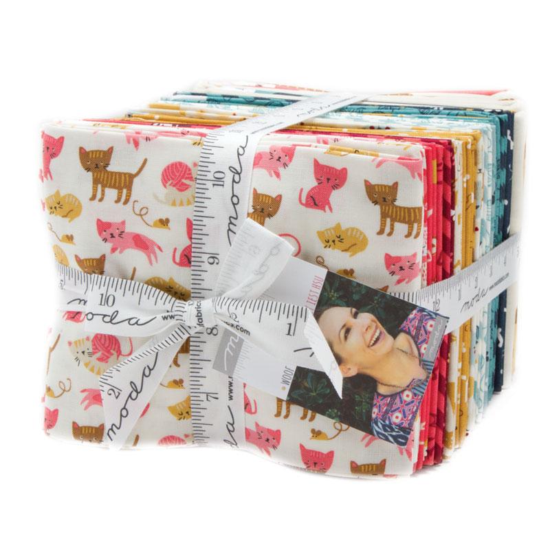 Moda Woof Woof Meow Fat Quarter Bundle By Stacy Iest Hsu Cotton Fabric