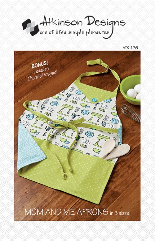 Atkinson Designs Mom & Me Aprons Pattern
