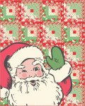 Moda Swell Christmas Santa Quilt Kit