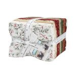 Moda Once Upon A Memory Christmas Fat Quarter Bundle With Panel Cotton Fabric