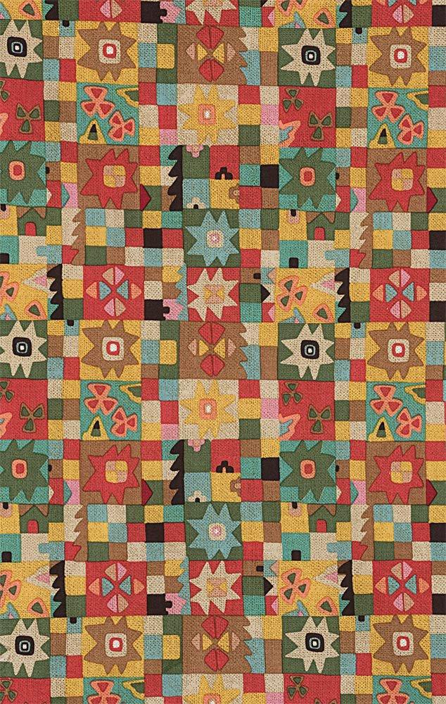 Alexander Henry Frida Kahlo Cuadros de Azul Tea Dye Cotton Fabric