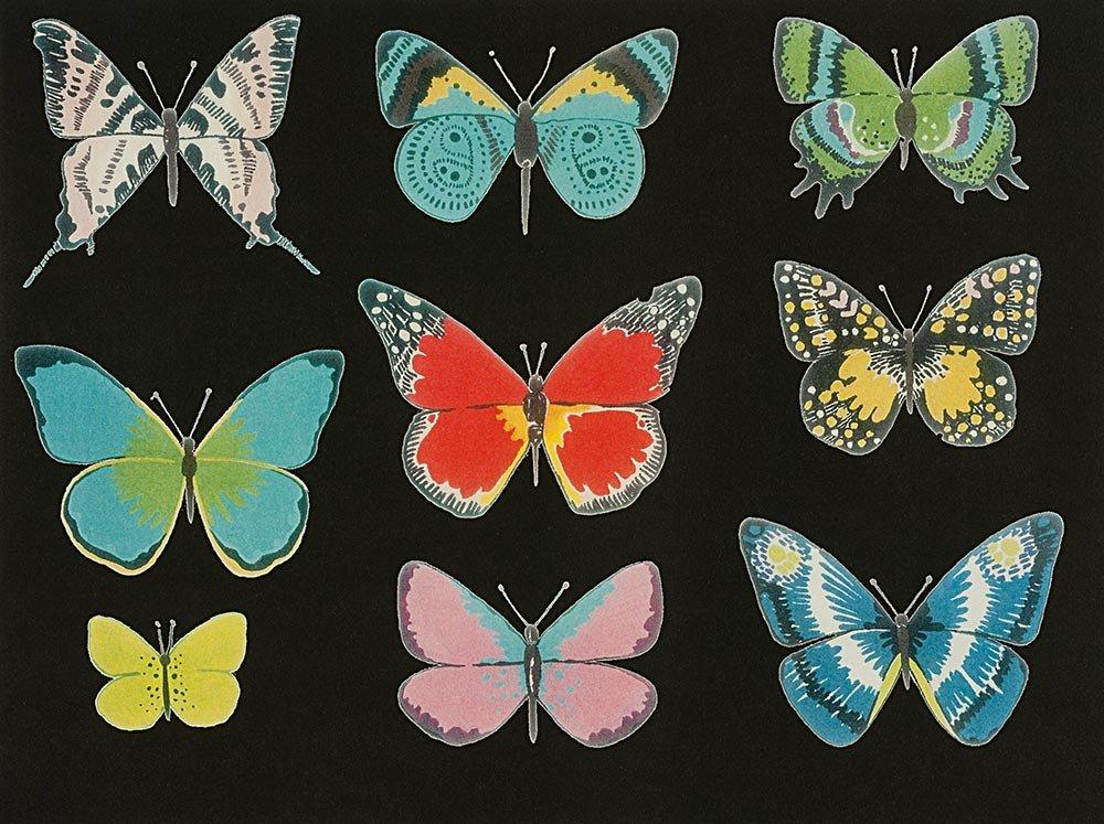 Alexander Henry Frida Kahlo El Tiempo de Mariposa Butterfly Black Brite Cotton Fabric