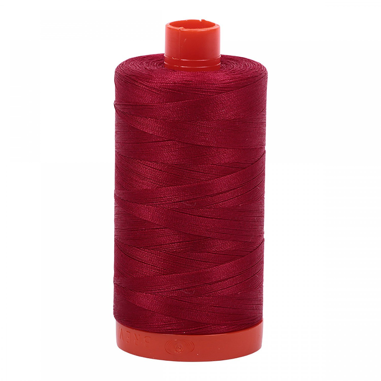 Aurifil Cotton Mako Thread 50wt 1300m 2260 Red Wine