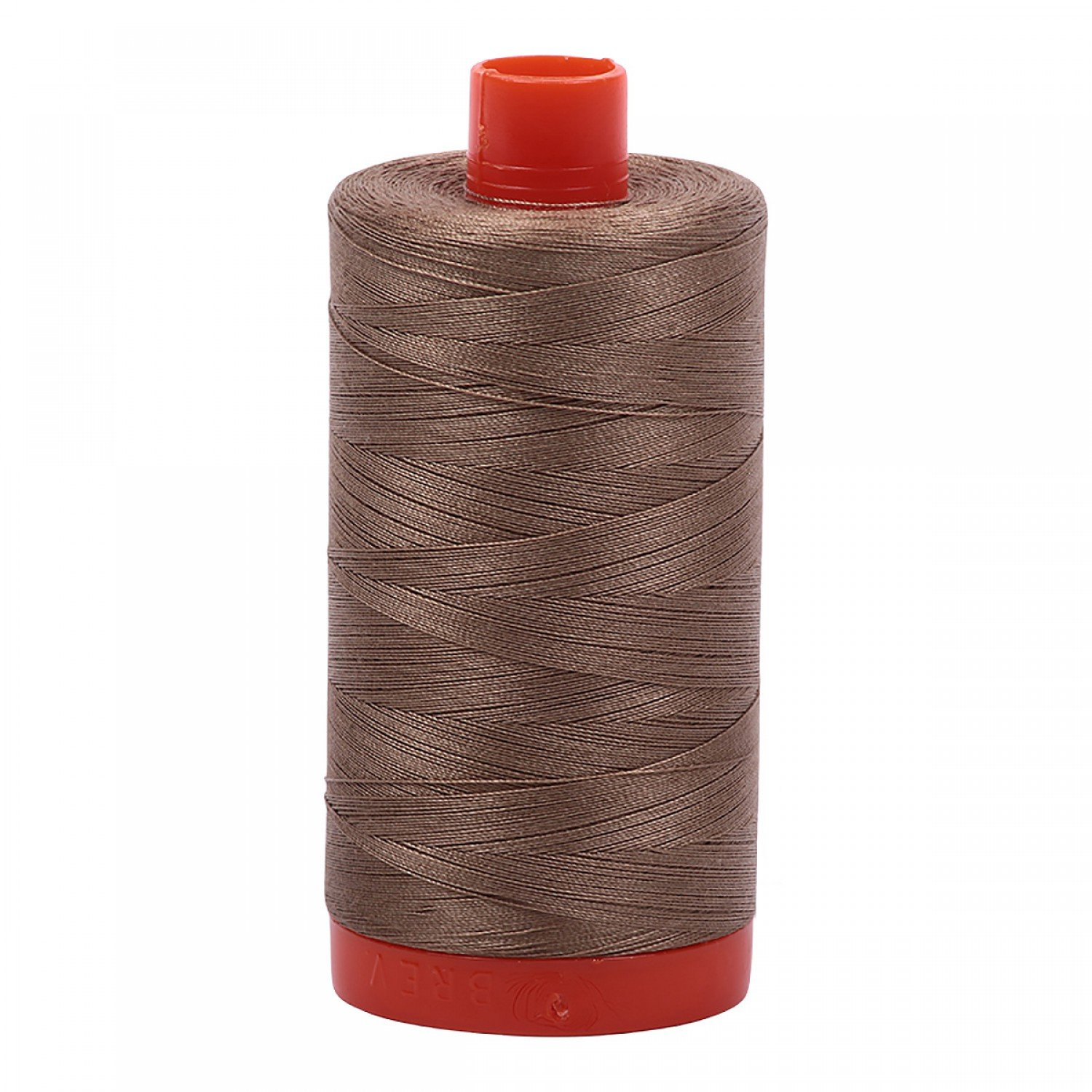 Aurifil Mako Cotton Thread Solid 50wt 1422yds 2370 Sandstone