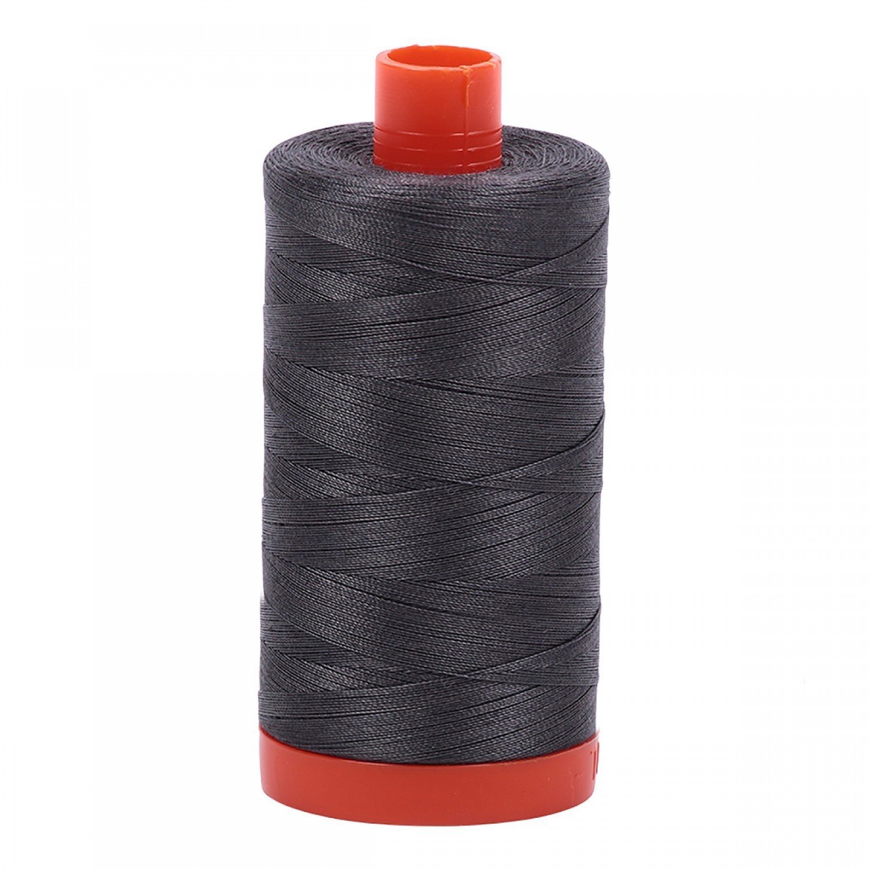 Aurifil Cotton Mako Thread 50wt 1300m 2630 Pewter