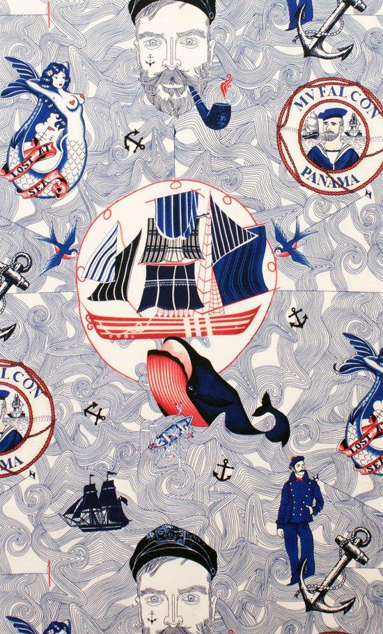 Alexander Henry American Coast Lost At Sea Cotton Fabric