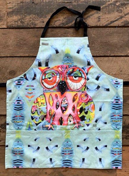 Allen Designs Owl Apron