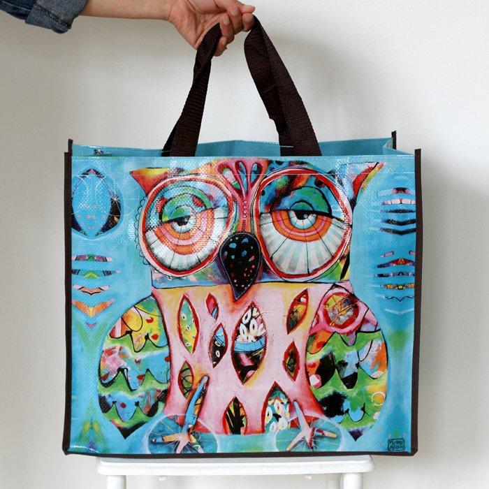Allen Designs Owl Shopper Bag