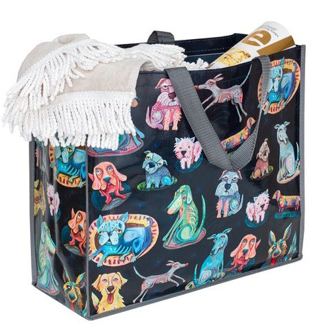 Allen Designs Dog Park Shopper Bag