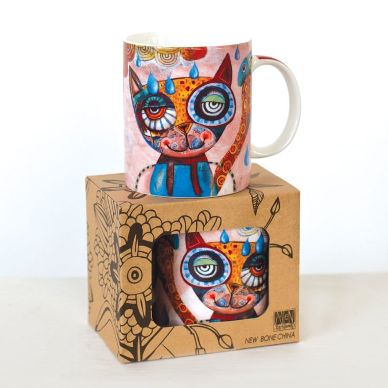 Allen designs Cat Coffee Mug