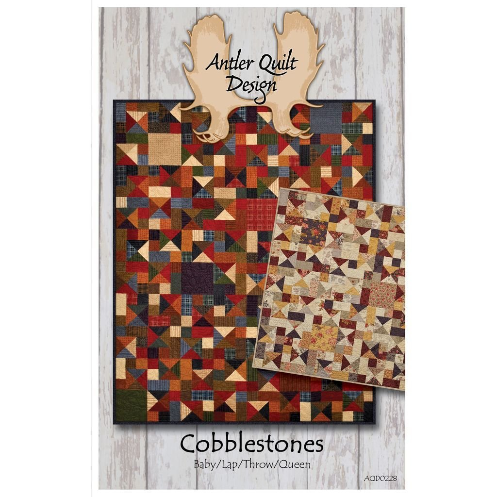 Doug Leko Antler Quilt Designs Cobblestones Quilt Pattern