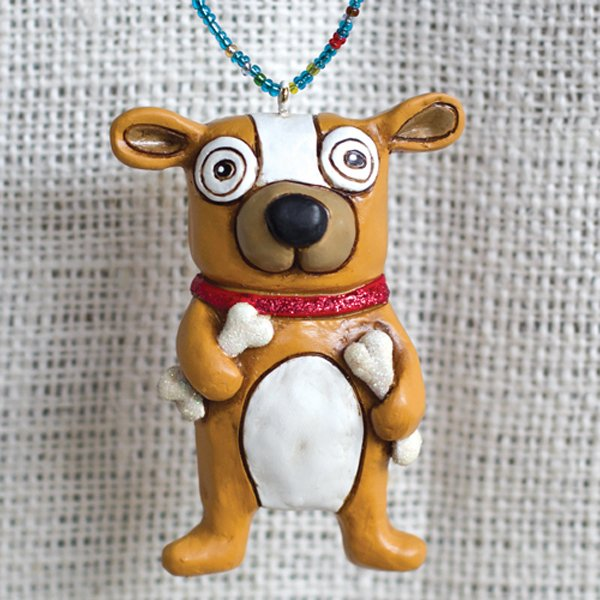 Allen Designs BONES DOG DANGLING DOODLING ORNAMENT