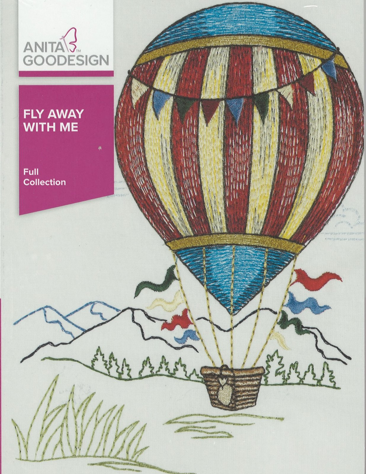 Anita Goodesign Machine Embroidery designs Fly Away With Me Full Collection CD