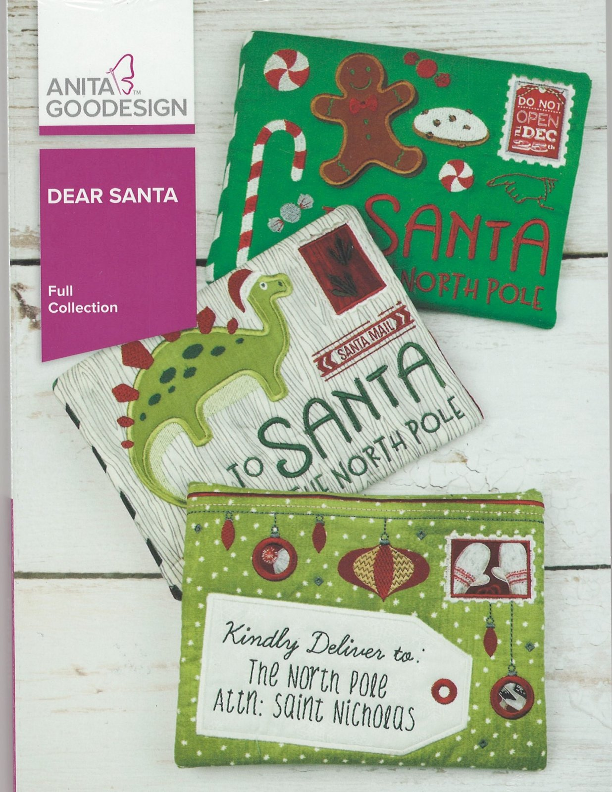 Anita Goodesign Machine Embroidery designs Dear Santa Full Collection CD