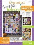 KIMBERBELL Broomhildas Bakery Machine Embroidery Book W/CD