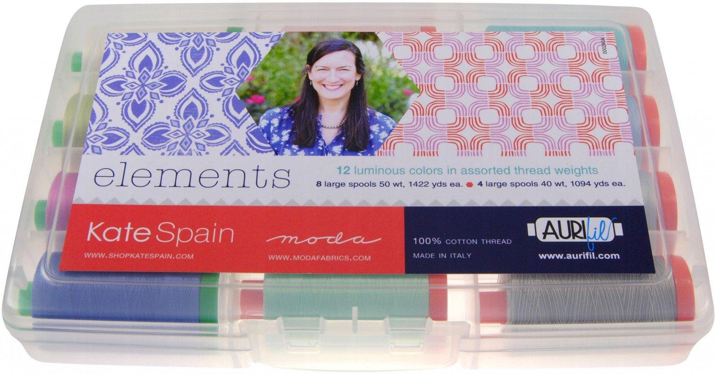 Aurifil Elements Collection By Kate Spain KS5040EC12
