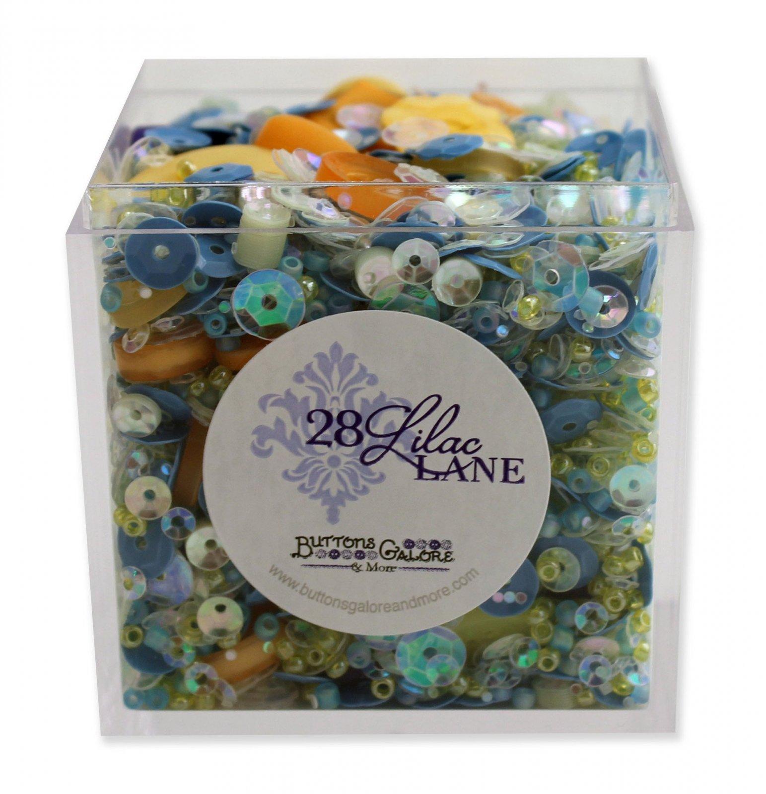Shaker Mix Sunflower Sky Buttons, Sequins, Beads Box