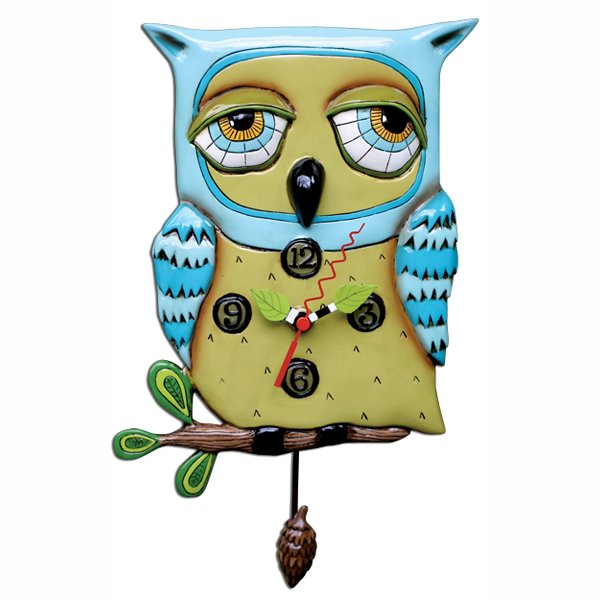 Allen designs Old Blue Owl Clock