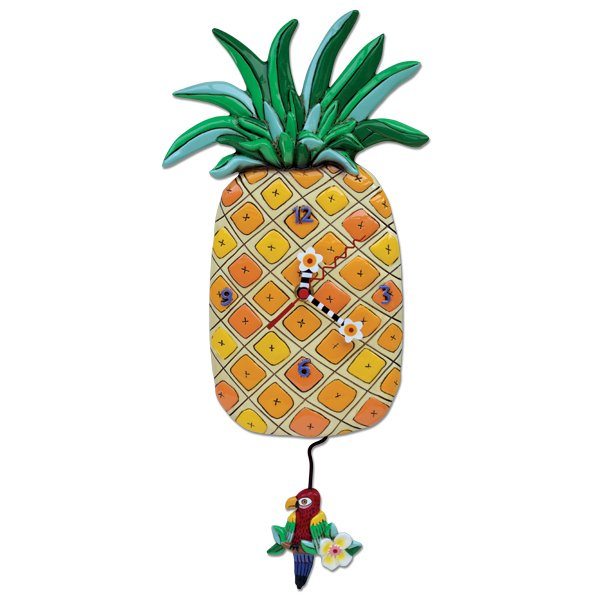 Allen designs Island Time Pineapple Clock