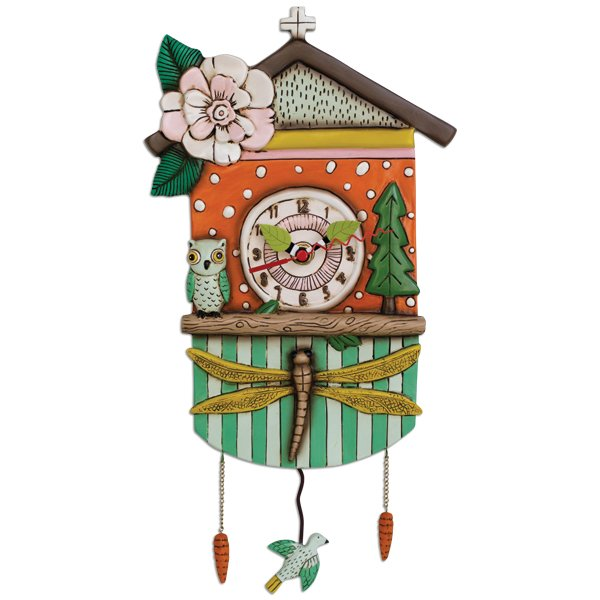 Allen Designs Forest Friends Clock