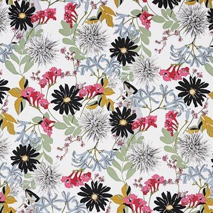 Alexander Henry A Ghastlie Snip Ghastly Color Natural Cotton Fabric
