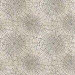 Free Spirit Tim Holtz Materialize Neutral Spiderwebs Halloween Cotton Fabric