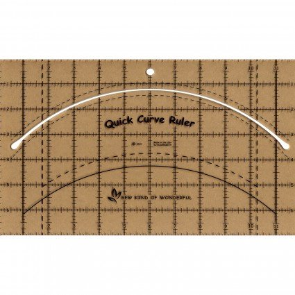 Quick Curve Ruler QCR Sew Kind Of Wonderful Full Size