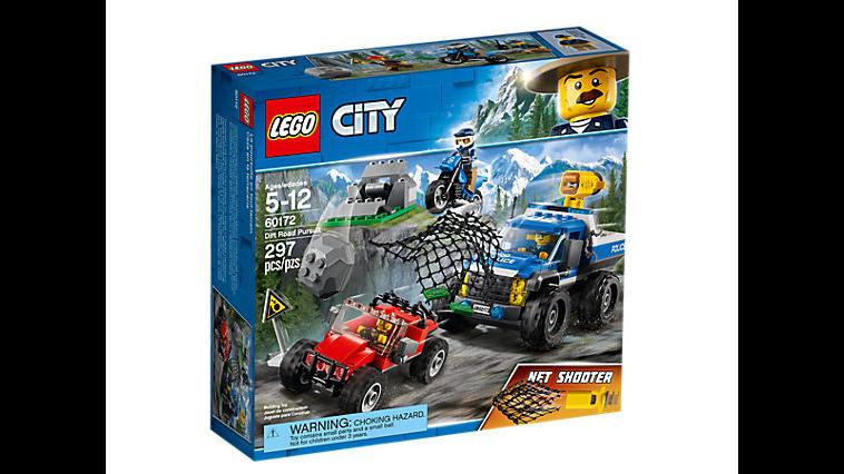City Dirt Road Pursuit