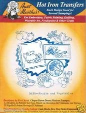 3632 Fruits and Vegetables Blue