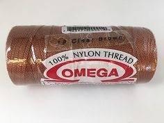 Omega 100% #18 Nylon Crochet Thread Coco