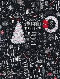 Black Christmas Greetings