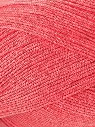 Omega 100% #73 Nylon Crochet Thread Salmon