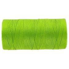 Omega 100% #29 Nylon Crochet Thread Lime Green