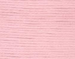 Omega 100% #12 Nylon Crochet Thread Light Pink