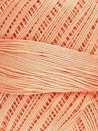 Omega 100% #44 Nylon Crochet Thread Lt. Peach