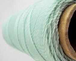 Omega 100% # 27 Nylon Crochet Thread Mint
