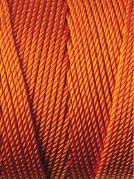 Omega 100% #7 Nylon Crochet Thread dark Orange