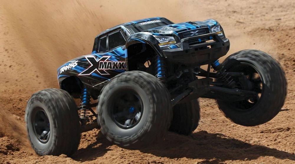 X-Maxx 4WD Truck 8S BLUE w/TSM, RTR