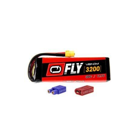 3200mAh 3S 11.1V 30C LiPo UNI 2.0 Plug