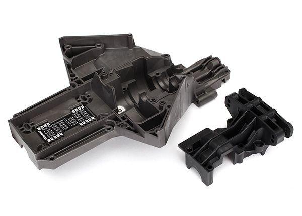 Bulkhead rear (upper & lower) X-Maxx
